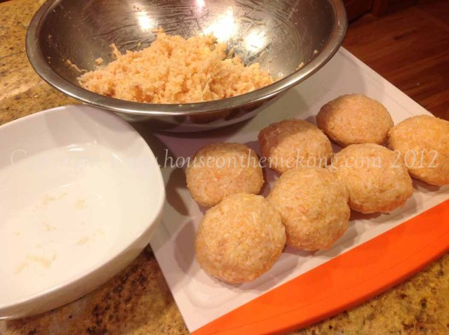 Making Rice Balls