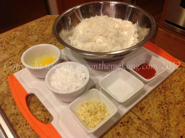 Rice Ingredients